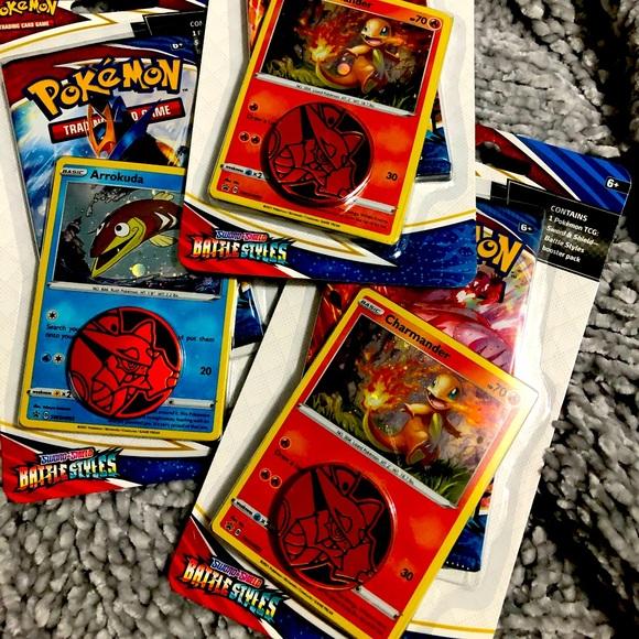 Pokémon battle styles card pack
